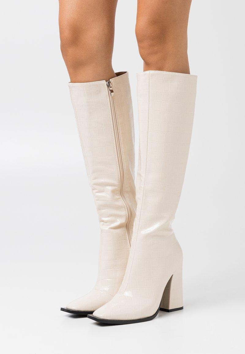 RAID - SPHERE - High heeled boots - offwhite