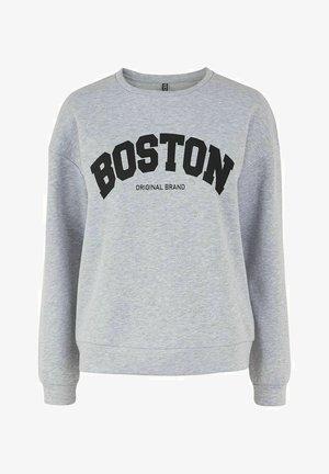 PCCALI - Sweatshirt - light grey melange