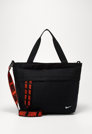 ESSENTIALS - Tote bag - black/white