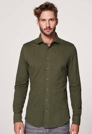 SLIM FIT - Shirt - groen