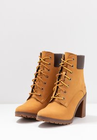 Timberland - ALLINGTON 6IN LACE UP - Schnürstiefelette - wheat - 4
