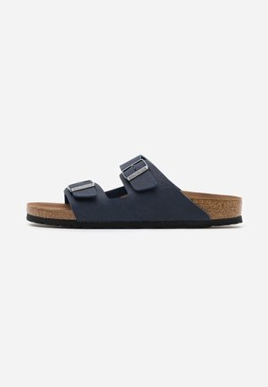 VEGAN ARIZONA - Slippers - saddle/navy