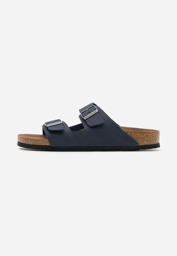VEGAN ARIZONA - Pantoffels - saddle/navy