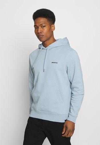 LORETTO HOODIE - Sweatshirt - fog blue