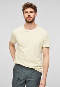 s.Oliver - Print T-shirt - yellow - 0