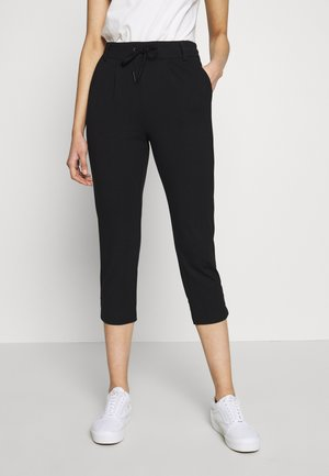 ONLPOPTRASH EASY CAPRI PANT - Bukse - black