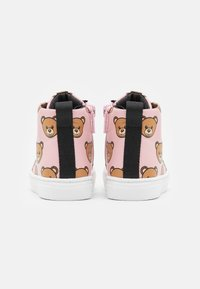 MOSCHINO - High-top trainers - light pink - 2