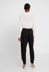 Cream - SILLIAN PANTS - Trousers - pitch black - 3