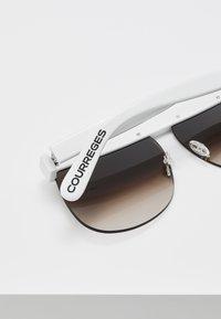 Courreges - Aurinkolasit - white - 4