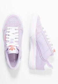 adidas Originals - CONTINENTAL VULC - Sneakers - lilac - 3
