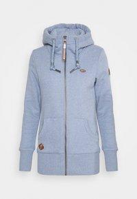 Ragwear - NESKA ZIP - Zip-up sweatshirt - lavender - 5