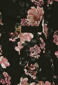 Vero Moda - VMSUNILLA BELT ANCLE DRESS - Maxi šaty - black - 5