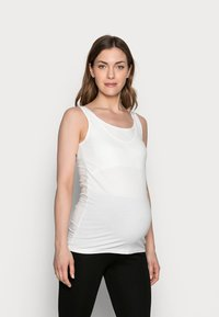 MAMALICIOUS - MLSIA NELL TANK 2 PACK - Top - black/snow white - 1