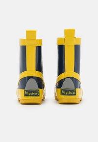 Playshoes - UNISEX - Wellies - marine/gelb - 2