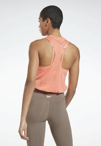Reebok - BURNOUT TANK TOP - Topper - salmon - 1