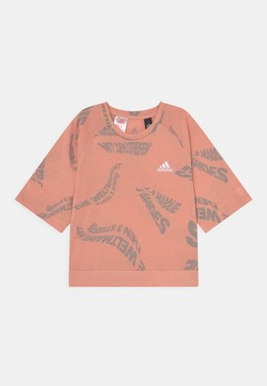 TEE - T-shirt med print - ambient blush/solid grey/white
