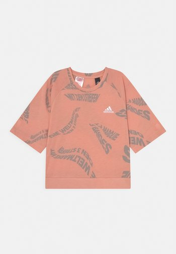 TEE - T-shirt con stampa - ambient blush/solid grey/white