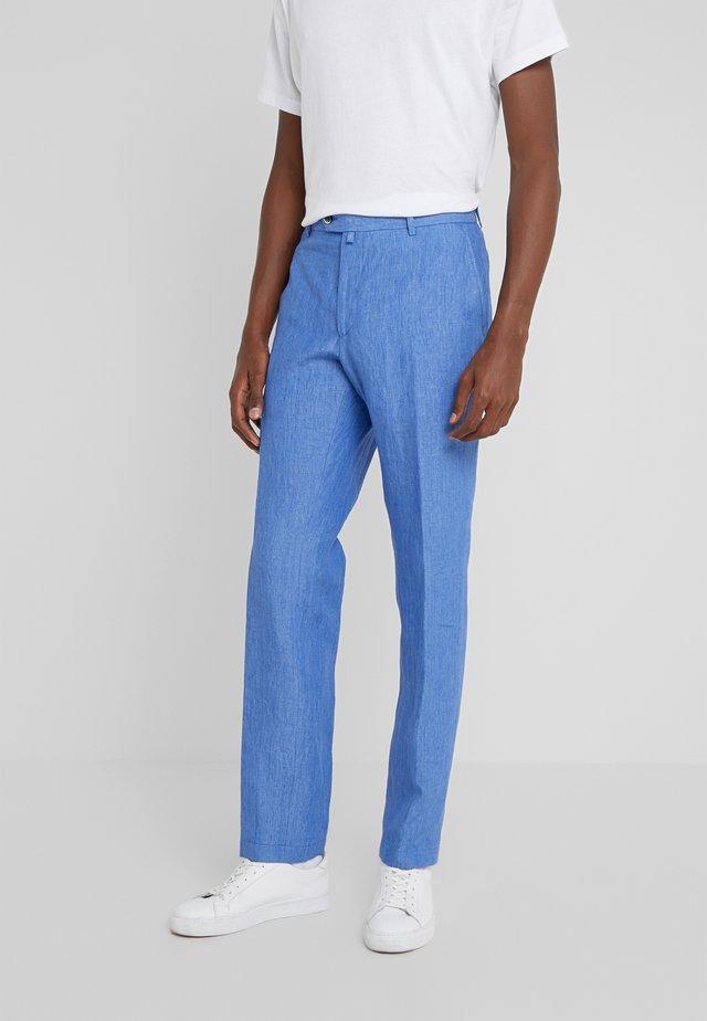 HANK - Spodnie materiałowe - blue