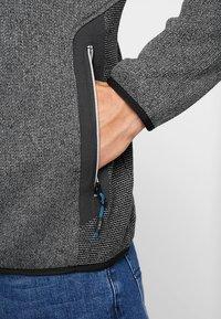 CMP - MAN JACKET - Fleece jacket - antracite - 3