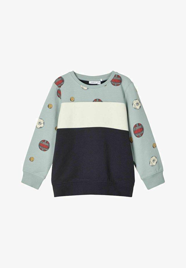 Sweatshirts - silver blue