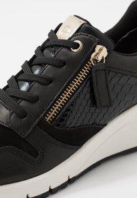 Tamaris - Trainers - black/gold - 2