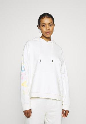 UTAH MULTI LOGO HOODY - Sweatshirt - white