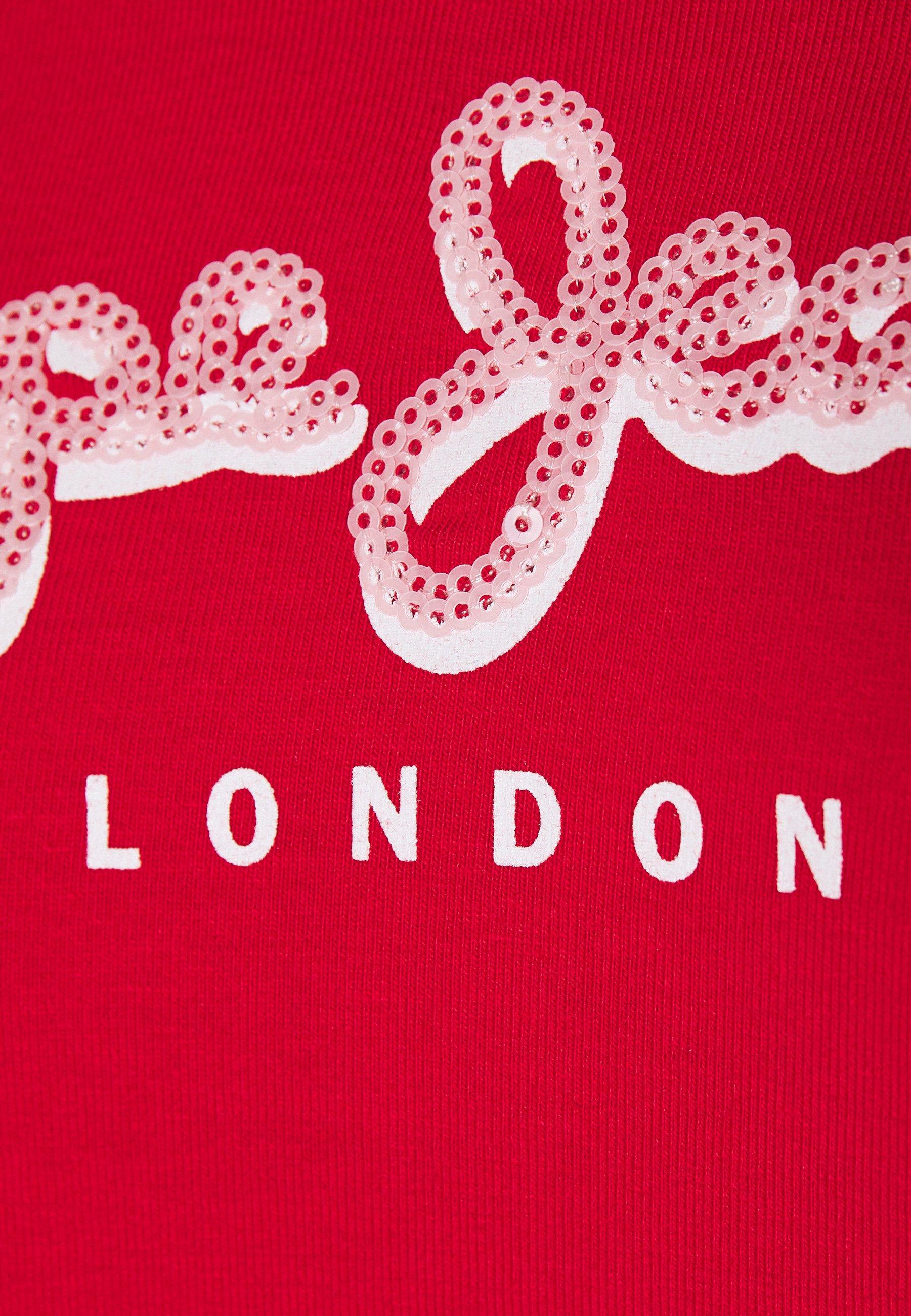 Pepe Jeans MIRANDA - T-shirts med print - red