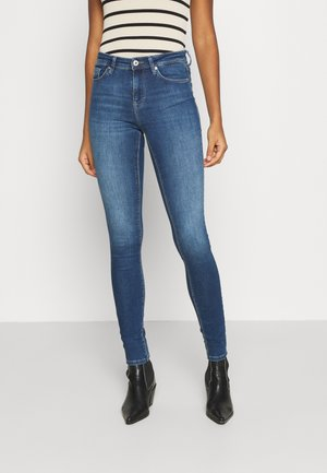 ONLIDA LIFE - Jeansy Skinny Fit - light medium blue denim
