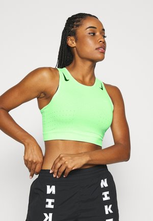 AEROSWIFT CROP - T-shirt de sport - vapor green/black
