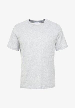 SINGLE CLASSIC TEE - Basic T-shirt - light grey