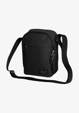HEATHROW - Across body bag - ultra black