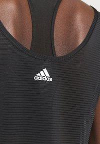 adidas Performance - COMMUTER TANK - Funktionsshirt - black/white - 5