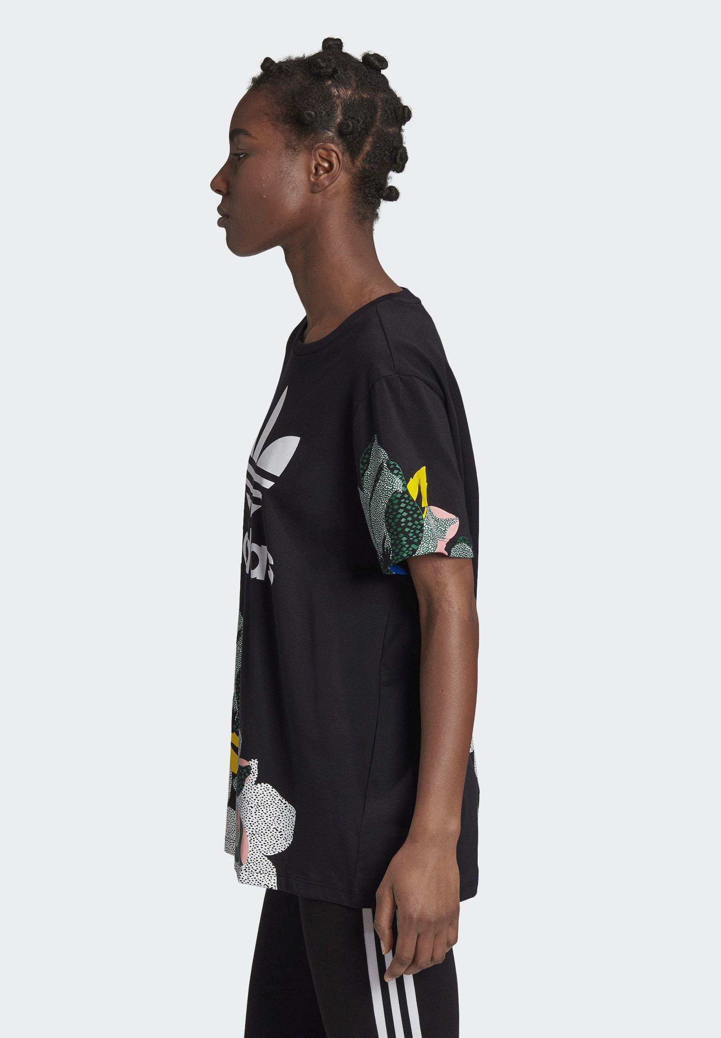 HER STUDIO LONDON LOOSE T SHIRT T shirt med print black