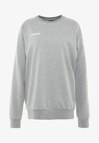 Hummel - HMLGO  - Sweatshirt - grey melange - 3