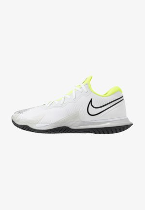 AIR ZOOM VAPOR CAGE 4 - Zapatillas de tenis para todas las superficies - white/black/volt/pure platinum