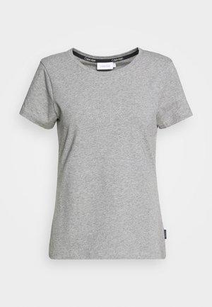 STUD LOGO - T-shirts print - mid grey heather