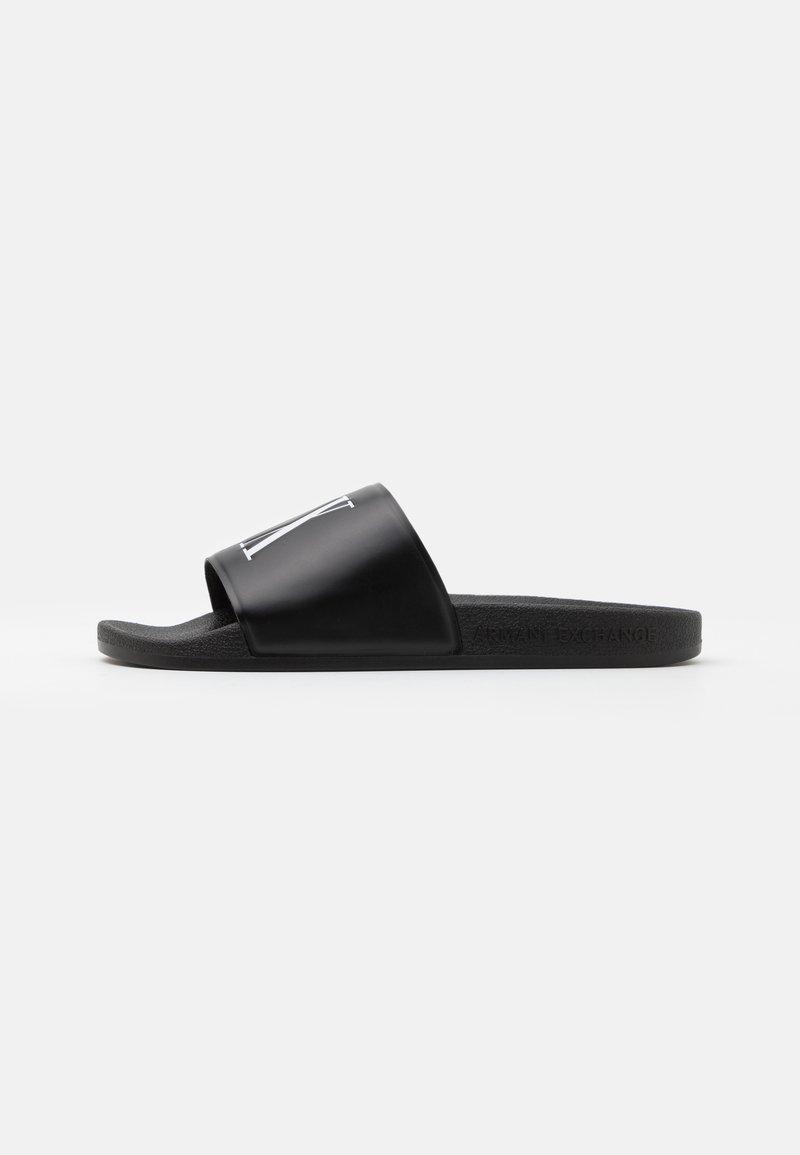 Armani Exchange - Pantofle - black