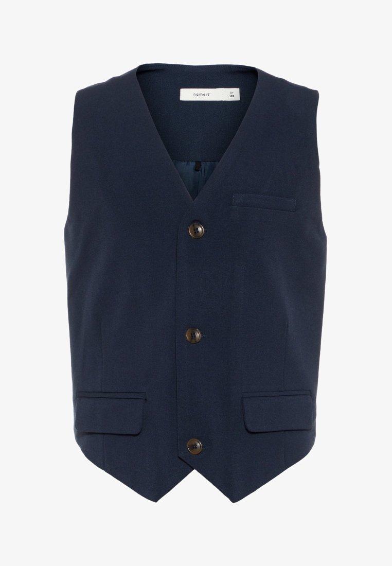 Name it - Suit waistcoat - dark blue