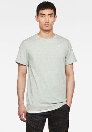 BASE-S - Basic T-shirt - jadeite htr
