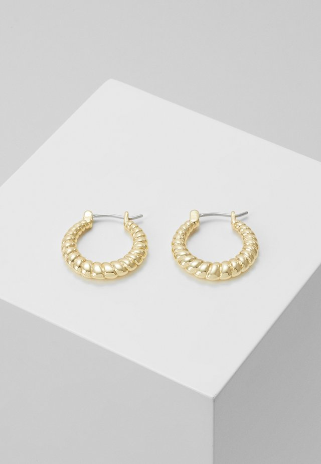 WAY ROUND EAR - Náušnice - gold-coloured