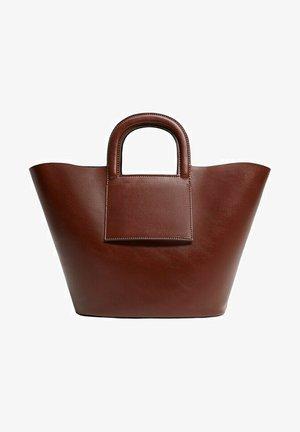 AMBERLEY - Tote bag - braun