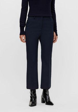 CAROLINE KICK FLARE - Trousers - jl navy