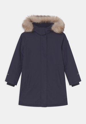 COAT FIX HOOD - Veste d'hiver - black blue