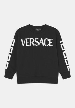 LOGO - Sweatshirt - nero/bianco