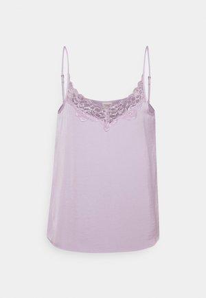JDYAPPA NEW SINGLET - Top - pastel lilac
