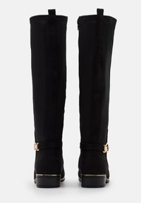 New Look Wide Fit - WIDE FIT AMOUR STRETCH BACK METAL  - Boots - black - 3