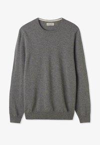 grau/dark grey melange