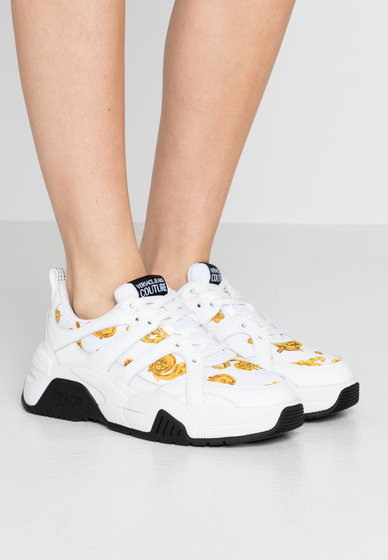 Versace Jeans Couture - LINEA FONDO FIRE ONE - Trainers - white