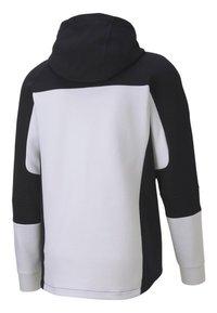 """Puma - PUMA HERREN SWEATSHIRTJACKE """"EVOSTRIPE"""" - Zip-up hoodie - white - 4"""