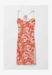 Bershka - Day dress - red - 3